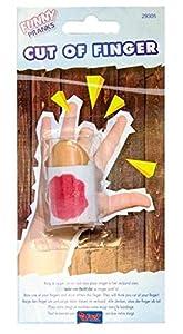 Folat Artículo de Broma abgehackter Dedos