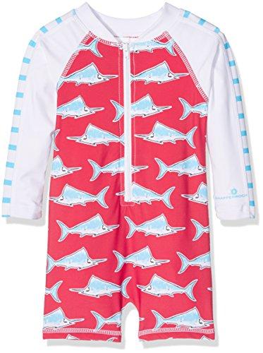 Snapper-Rock-Kinder-Baby-Jungen-Kleinkinder-UV-Schutz-UPF-50-Plus-Badeanzug-langer-Arm-fr-Strand-Pool-Sommer-Kinder-Badekleidung