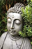 A Buddha Meditation Zen Statue Journal: 150 page lined notebook/diary