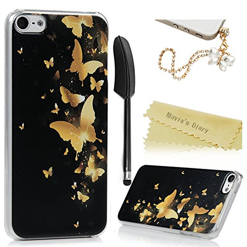 maviss-diary-ipod-touch-6-case-ultra-thin-clear-hard-pc-case-easy-grip-slim-fit-painting-design-slip