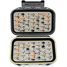bl-vs Fly Box 60oro testa ninfa trota mosche/Ganci 12Set 33j-60pesca compleanno/idee regalo natale - Salmon Gift Box