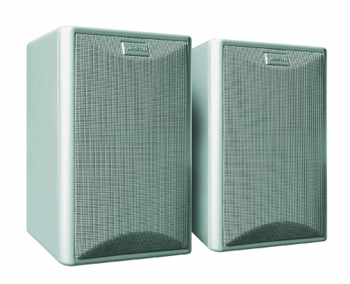 Quadral Maxi 440 2-Wege Bassreflex Regallautsprecher Paar (100/150 Watt) Silber