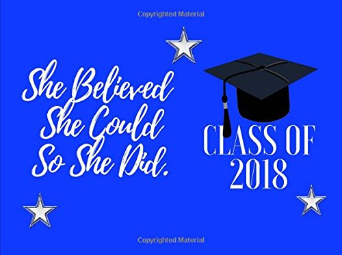 She Believed She Could So She Did:Class Of 2018: Graduation  Wishes,Graduation Messages,Happy Graduation,Graduation Advice Graduation  Signature