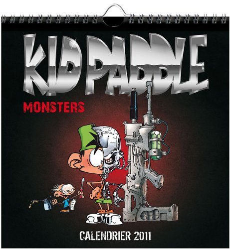 Calendrier Kid Paddle Monsters 2011