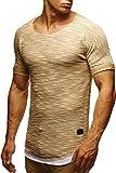 LEIF NELSON Herren T-Shirt Sweatshirt Hoodie Hoody LN6360
