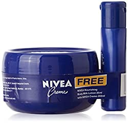 Nivea�Crme, 200ml with Free�Nivea�Smooth Milk Lotion, 35ml