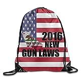New California Gun Gesetze 2016Fashion Kordelzug Reisetasche & Radfahren Beam Mund Taschen und Buggy Tasche