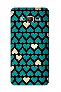 ZAPCASE PRINTED BACK COVER FOR SAMSUNG GALAXY GRAND DUOS Multicolor
