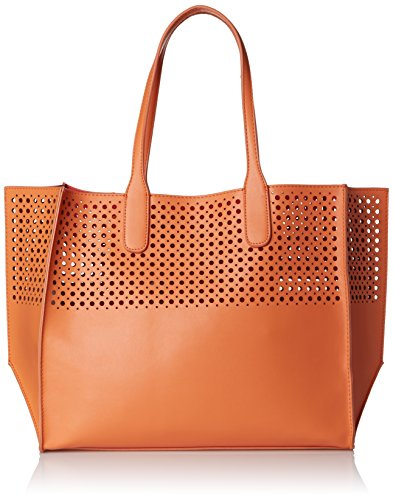 emilie-m-la-mar-perforated-tote-women-orange-tote