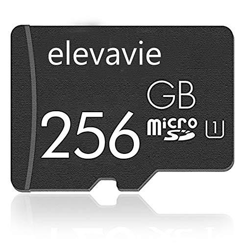 Elevavie Tarjeta Memoria 256GB Micro SD Memory Card