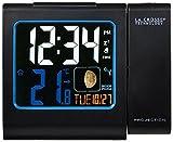 La Crosse Technology WT551 Réveil Radio Piloté avec projection Ecran Couleurs -...
