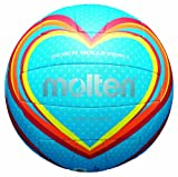Molten Ballon de Volley V5B1501-B Bleu/Rouge/Orange Taille 5