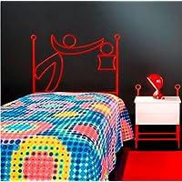 Preisvergleich für MuebleTienda Betts aus Schmiedeeisen Mod. Basket (90Zentimeter, Pink)