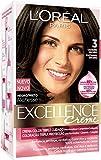 L'Oréal Paris Excellence Coloración Crème Triple Protección, Tono: 3 Castaño Oscuro