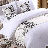Materiale: cotone  fogli / formato letto: 50 * 160 cm (1m letto), 50 * 180 cm (letto 1,2 m), 50 * 210 cm (1,5 m letto), 50 * 240 cm (1,8 m letto), 50 * 260 cm ( 2m letto),