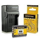 PATONA 3en1 Chargeur + Batterie NP-BY1 pour Sony HD Action Cam HDR-AZ1 HDR-AZ1VR et bien plus encore