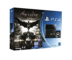 PlayStation 4 - Konsole (500GB) inkl. Batman: Arkham Knight [CUH-1116A]