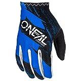 O'Neal Matrix Handschuhe Burnout Motocross MX DH Downhill Enduro Offroad Mountain Bike, 0388R-1, Farbe Blau, Größe 2XL