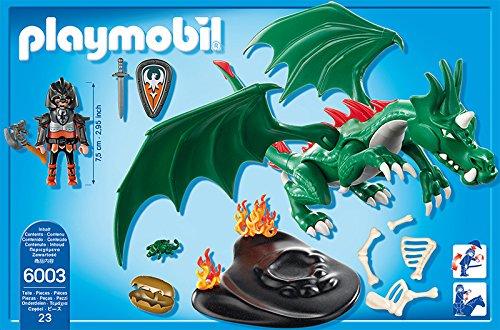PLAYMOBIL Caballeros - Playset Gran dragón (6003) 2