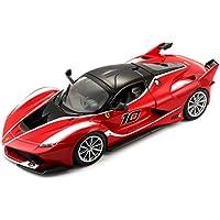 Bburago - Coche de juguete Ferrari Racing FXX K, escala 1/24, color