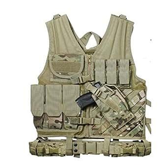 Gilet de combat warrior camouflage multicam