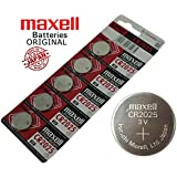 Maxell CR2032 Coin Type 3V Lithium Battery (5 Pieces)