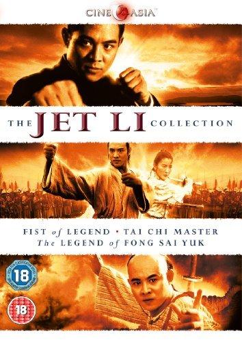 The Jet Li Collection (Fist of Legend, Tai Chi Master, The Legend of Fong Sai Yuk) [DVD] by Jet Li