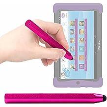 Lápiz Stylus Rosa Para Cefatronic - Tablet Clan Motion Pro - ¡Ideal Para Mejorar La Precisión En Su Pantalla! - DURAGADGET