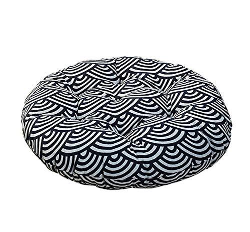 MARXHOT Runde verdicken Boden Kissen Indoor/Outdoor Stuhl sitzkissen Tatami futon bucht Fenster pad Yoga Matte für wohnkultur (Durchmesser 40 cm, 58 cm),001,Diameter40cm -