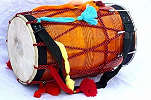 SANSKRITI MUSICALS Punjabi Bhangra Dhol - Mangowood - GE
