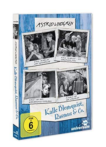 Astrid Lindgren - Kalle Blomquist, Rasmus & Co. (original schwarz-weiß Filme) [2 DVDs]: Alle Infos bei Amazon