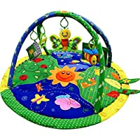 Just4baby Light & Musical Garden Bug Firefly Baby Play Mat Playmat Activity Gym Toy