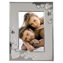 Idea Regalo - Hama 00057879 Cape Coral - Cornice portafoto 13x18 cm, colore: Argento