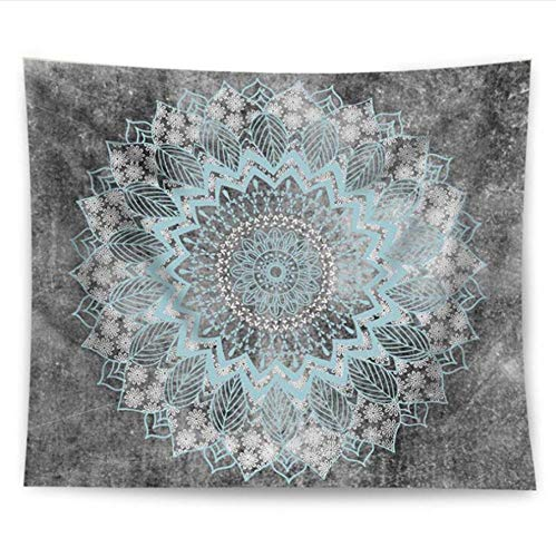 LoveTapestry Fashion Hippie Wall Hanging Yoga digital Printing Sunscreen Square Shawl Vintage Indian Mandala tapestry-200X150CM (Ebay Halloween Vintage)