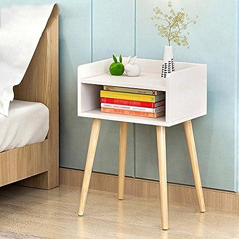 C-T-G Nachtschränke Seitenschrank Sofa Schlafzimmer Storage Cabinet ( Farbe : K-40*30*58 )