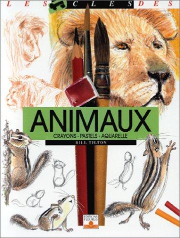 Animaux : Crayons, pastels, aquarelle