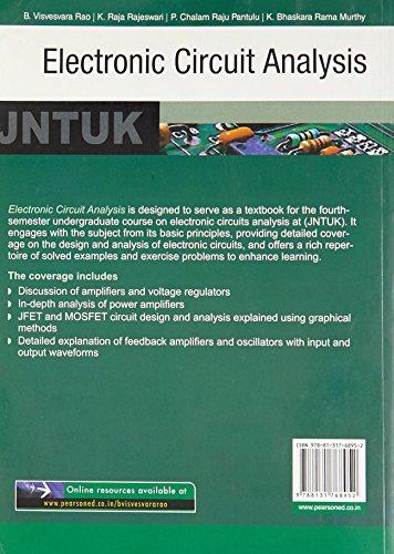 Electronic Circuits Analysis for JNTU