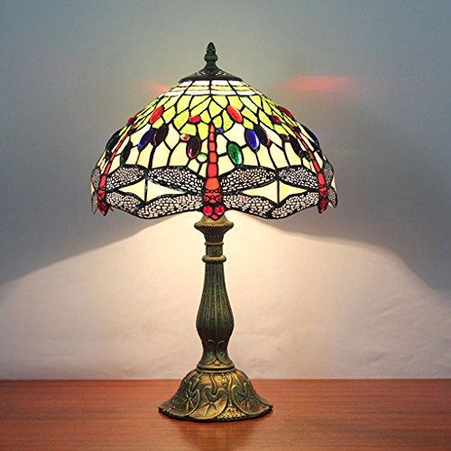 QIANG - rétro pour faire l'ancien bureau de travail lampe de bureau industrie de l'art de fer de vent American nostalgia étude lit de chevet chambre de la table de personnalité lampe
