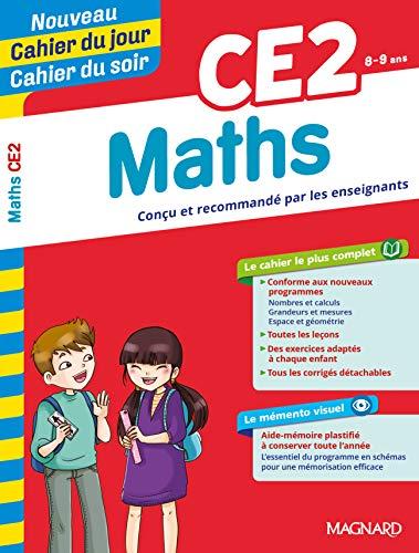 Cahier du jour / Cahier du soir - Maths CE2