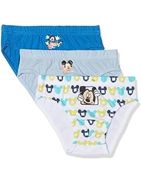 Disney Mickey Mouse, Calzoncillos (Pack de 3) para Niños