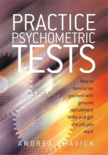 Practice psychometric tests how to familiarise yourself with practice psychometric tests how to familiarise yourself with genuine recruitment tests and get the job fandeluxe Images