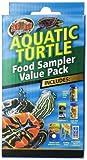 Zoo Med Aquatic Turtle Food Healthy Sampler Species Calcium Value Pack Reptile