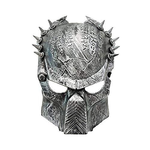 (Umiwe Cosplay Halloween Maske, Scary Maske, AVPR Wolf Halloween Horror Maske für Maskerade Party, Halloween Kostüm Party)