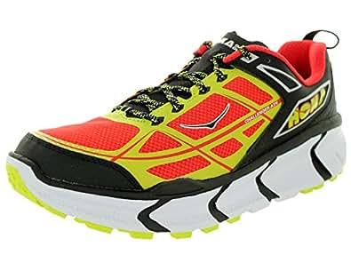 Hoka One One pour homme Challenger ATR Chaussures de course à pied - - Black / Poppy Red, 42 EU M