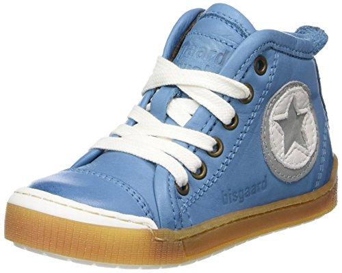 Bisgaard Unisex-Kinder Schnürschuhe Hohe Sneaker, Blau (Sky Blue), 32 EU
