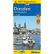 ADFC-Regionalkarte Dresden und Umgebung mit Tagestouren-Vorschlägen, 1:75.000, reiß- und wetterfest, GPS-Tracks Download (ADFC-Regionalkarte 1:75000)