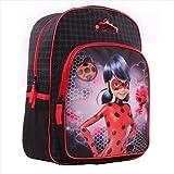 Vadobag Miraculous - Sac A Dos Noir 42Cm 1 Poche Soufflet Children\'s Backpack, 42 cm, Black (Noir)