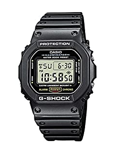 Casio Men's G-Shock DW5600E-1V Black Resin Quartz Watch (B000GAYQKY) | Amazon price tracker / tracking, Amazon price history charts, Amazon price watches, Amazon price drop alerts
