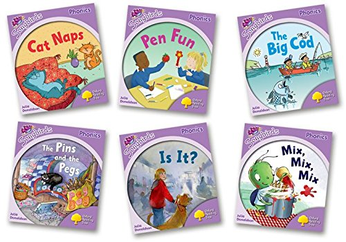 Oxford Reading Tree: Level 1+: More Songbirds Phonics: Pack (6 books, 1 of each title) PDF Books