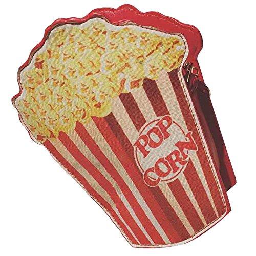 Belloo Imbiss Snack Umhängetaschen Schultertasche Popcorn